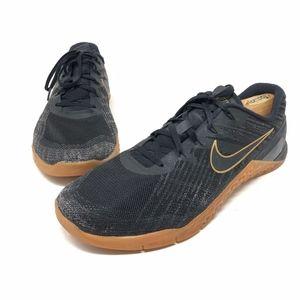 e95d5f561bc6c Nike Shoes - Nike Metcon 3 X Black Metallic Gold AH7106 070
